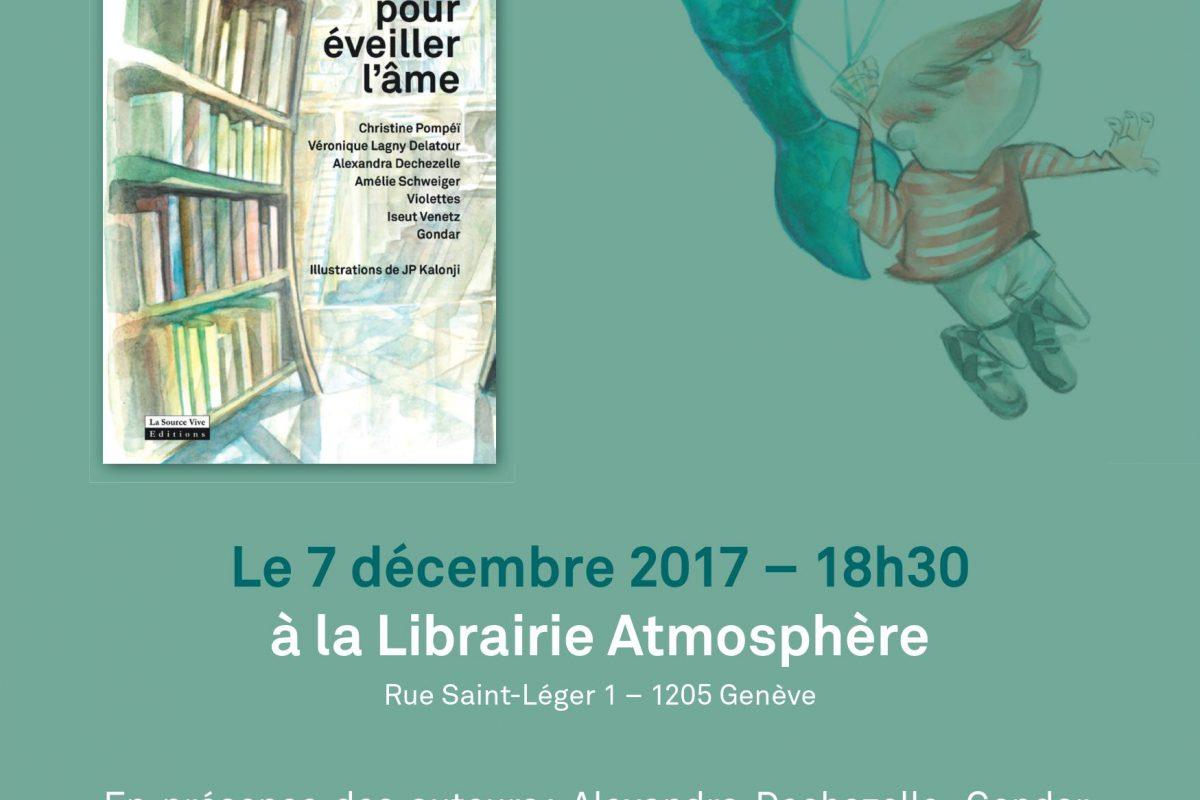 Vernissage «Contes pour éveiller l'âme» le 7 décembre dès 18h30