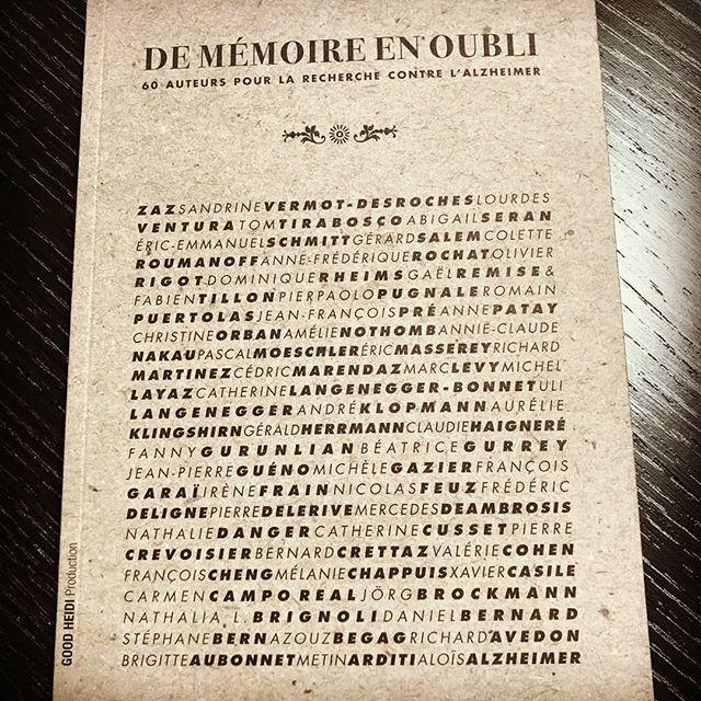 Rencontres et dédicaces d'auteurs de Mémoire en oubli le mercredi 26 septembre dès 18h30