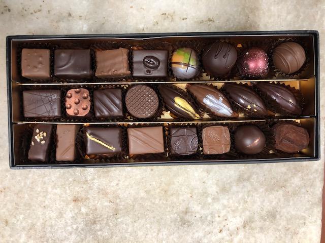 Dégustation de chocolat pour célébrer sa journée !