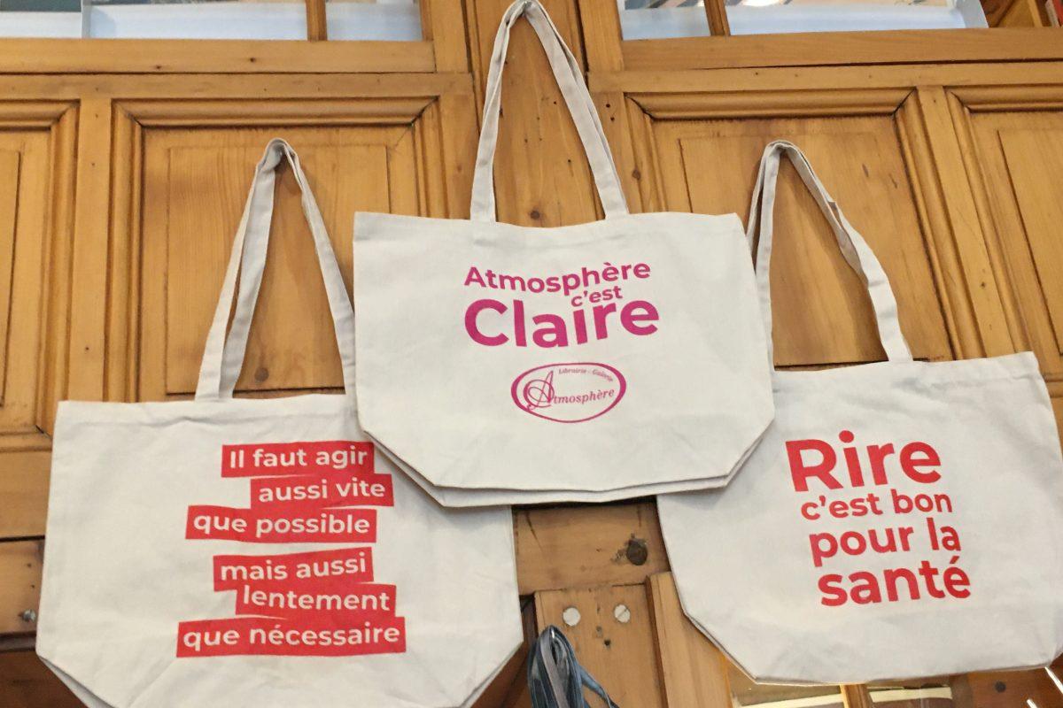 De supers sacs pour Atmosphère