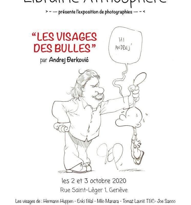 Les Visages des Bulles par Andrej Derkovic