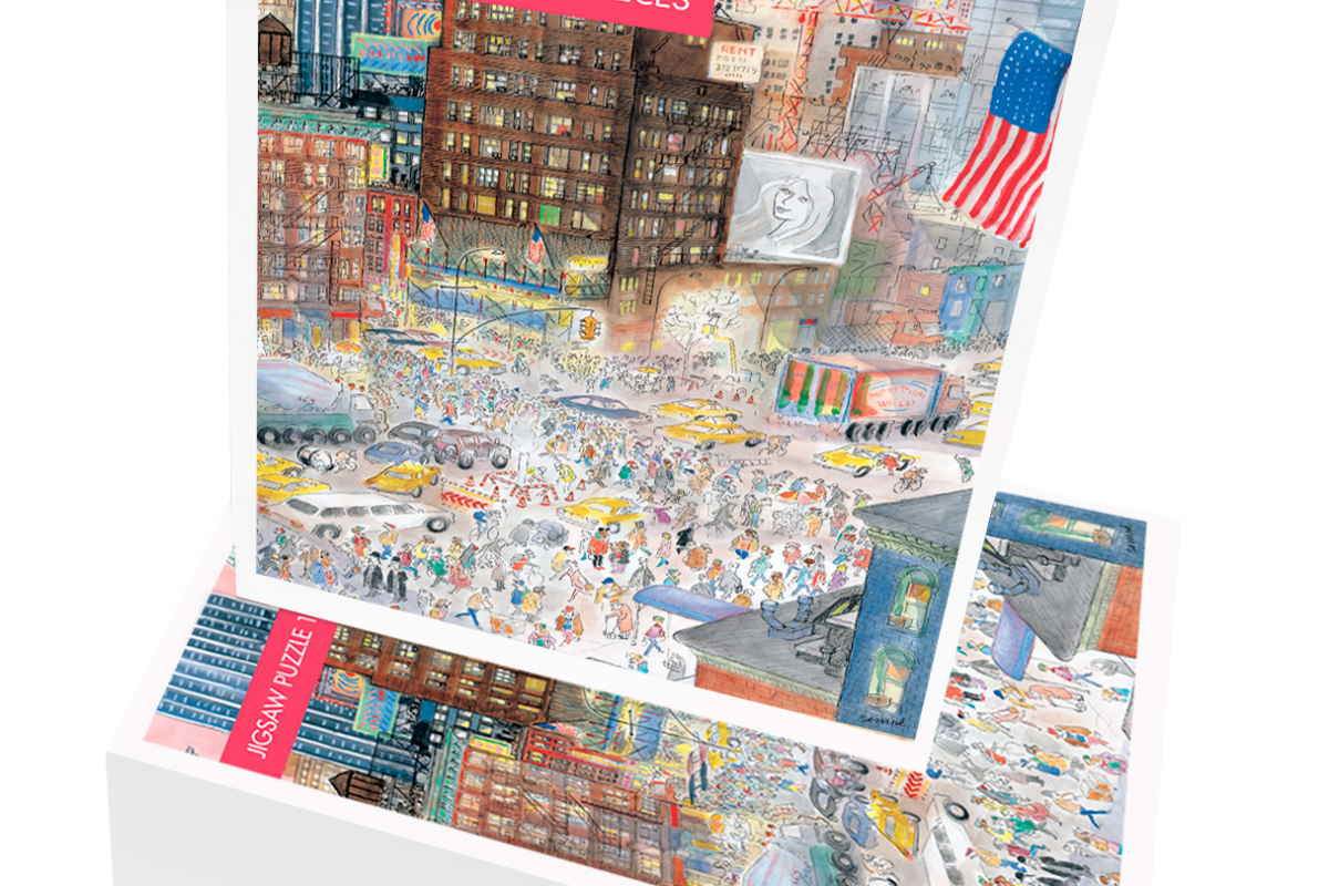 En ces temps mortifères, on fait aussi des puzzles : 1000 pièces